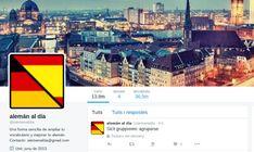 Amplía tu vocabulario de alemán con las cucharadas de alemán que te ofrece la cuenta de Twitter que te recomiendo en este artículo.