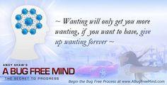 Give up wanting forever.... https://www.facebook.com/CreatingABugFreeMind/photos/pb.131140433581022.-2207520000.1428288389./1020154051346318/?type=3&theater