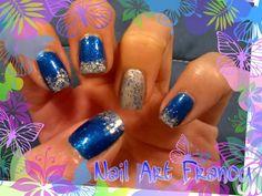 Tutorial Blu stellato e argento