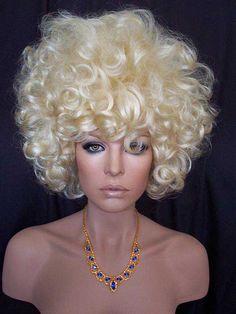 60 Vamp Drag Wig