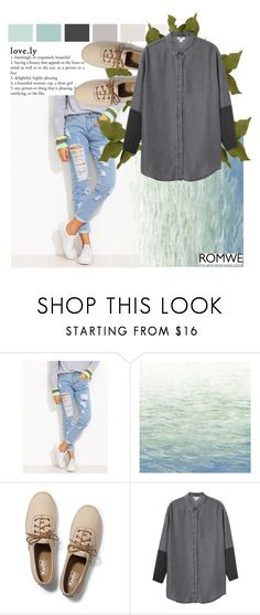 """""""hello"""" by xconstancax ❤ liked on Polyvore featuring Art Classics, Keds and Monki"""