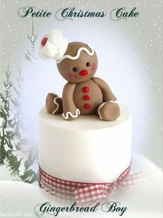 Christmas Themed Cake, Christmas Cake Designs, Christmas Cake Topper, Christmas Cake Decorations, Christmas Cupcakes, Christmas Sweets, Holiday Cakes, Christmas Cooking, Tortas Deli