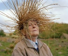 Offbeat Portraits Integrate Elderly Subjects with Nature