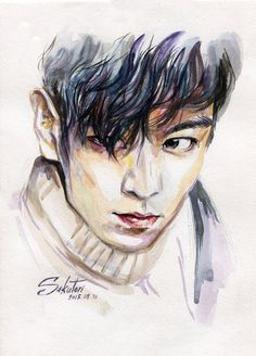 Big bang T.O.P by SakuTori