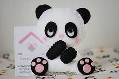 panda cute... maybe i can make this?