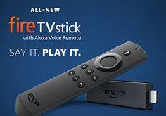 Новый ТВ-брелок Amazon Fire TV Stick с голосовым помощником Alexa стоит $40