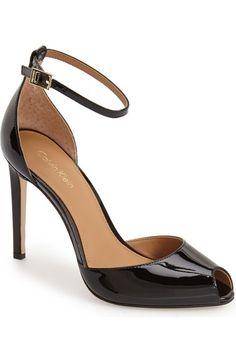 Calvin Klein 'Sirena' Ankle Strap Pump http://shop.nordstrom.com/s/sirena-ankle-strap-sandal/4264575?cm_mmc=Linkshare-_-datafeed-_-Women:Shoes:Pumps-_-5102560&siteId=gcdL_ATRVoE-a_rnXw_NtafqvKYuHpd8Cw