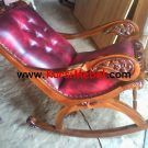 Kursi Goyang Jati Jok Jepara Rocking Chair, Armchair, Modern, Furniture, House, Home Decor, Ideas, Sofa Chair, Homemade Home Decor