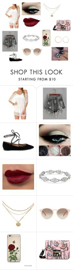 """""""Coachella -  CRIJ"""" by mcpolyvores09 ❤ liked on Polyvore featuring BECCA by Rebecca Virtue, Gianvito Rossi, GlassesUSA, Furla and Jennifer Zeuner"""