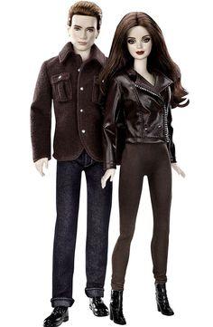 Barbie e Ken como Bella e Edward, protagonistas da saga 'Crepúsculo' (Foto: Divulgação)