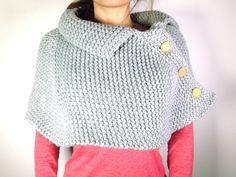 Tutorial como tejer una capa poncho o mañanita con telar