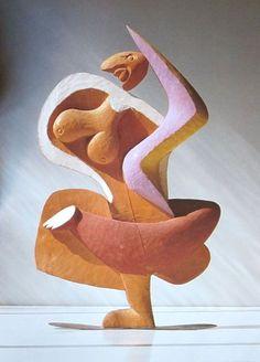 """Le Corbusier """"Femme - No. 15"""" 1954"""