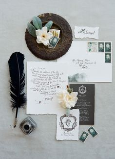 Details to a classic style seaside wedding