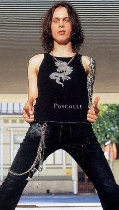 Every one has idols. I'd like to be as tall and splendid as Peter Steele -villie Ville Valo, Gorgeous Men, Most Beautiful, I Have A Boyfriend, Peter Steele, Lady And Gentlemen, Vintage Photos, Villa, Singer