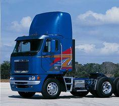 Cabover Trucks Pros And Cons Freightliner Trucks, Peterbilt, Big Rig Trucks, Semi Trucks, Diesel Oil, Reign, Bright Colors, Tractors, Vehicles