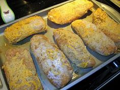 The Virtuous Wife: Cheesy Fried Chicken Breasts (FREEZER MEAL)