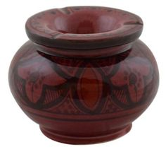Moroccan Smokeless Hand Made Ashtray Large