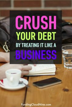 How to Pay off Debt Fast by Treating it Like a Business - Business Plan - Ideas of Tips On Buying A House - If you want to pay off debt quickly start treating it like a business! Ever heard a business plan? Well now youve heard of a debt plan! Planning Budget, Budget Planner, Financial Planning, Paying Off Credit Cards, Savings Planner, Get Out Of Debt, Debt Payoff, Budgeting Tips, Money Saving Tips