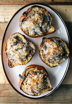 Greek Stuffed Acorn Squash | Some the Wiser