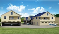 Beau Hangar Home Designs