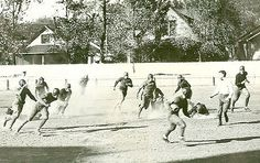 OU Football_1920s --- While at the university, Mercedes attended football games with her friends and sorority sisters.