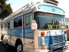 1980 blue bird wanderlodge – my super slo life Bluebird Buses, School Bus House, Cool Rvs, School Bus Conversion, Bus Camper, Paint Schemes, Motorhome, Blue Bird, Recreational Vehicles
