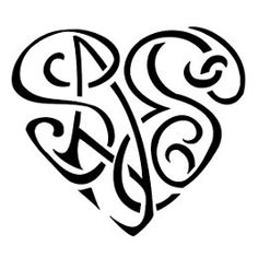 TATTOO TRIBES - Shape your dreams, Tattoos with meaning - heartigram, saes, s+a+e+s, heart, family, union, love, bond