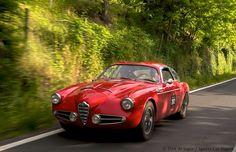 1957 Alfa Romeo 1900 C Super Sprint  (Zagato?)