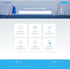 MarineTraffic Zendesk Help Center Page Design, Ui Design, Zendesk Help Center, Zen Desk, Web Help, Wordpress Help, Ui Website, Web Dashboard, Support Center