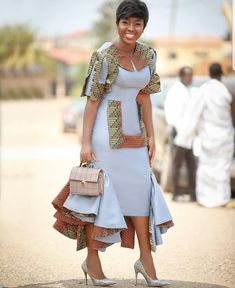 Hello,Today we bring to you 'Ankara Casual Gowns for Ladies'. These Ankara casual gowns are exquisit Latest African Fashion Dresses, African Dresses For Women, African Print Dresses, African Attire, African Women, African Prints, Dress Fashion, Fashion Outfits, African Inspired Fashion