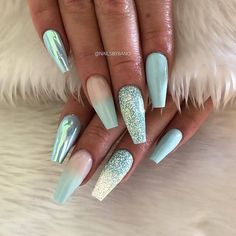 25 + stunning blue nail designs for a bold and beautiful loo . - 25 + stunning blue nail designs for a bold and beautiful look – 50 stunning blue nail desig - Ombre Nail Polish, Wedding Nail Polish, Nails Polish, Looks Halloween, Halloween Nail Art, Ombre Nail Designs, Nail Polish Designs, Gel Nails At Home, Nail Ideas