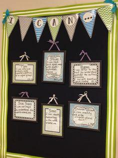 3rd Grade Pad : Hopping into the Love of Teaching Feet First!: Monday Made It & Monday Meet Up.....Pinterest & Classroom Decor