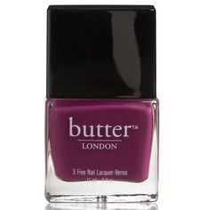 butter LONDON Queen Vic 3 Free Lacquer 11ml (28 BAM) ❤ liked on Polyvore featuring beauty products, nail care, nail polish, makeup, nails, beauty, fillers, butter london nail polish, butter london nail lacquer and butter london