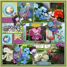 Digital: Fairy garden