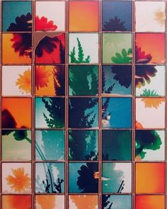 Patrick Winfield's large-scale grid composites from single pieces of Polaroid integral film. Color Photography, Photo Art, Photo, Still Life Photography, Instant Art, Life Photography, Art Optical, Art And Architecture, Straight Photography