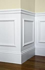 Wainscoting.