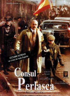 """""""Perlasca: The Courage of a Just Man""""(2012). After """"Giogio Perlasca"""", I changed totally my impression on italians, he is the real hero who listened his conscience and saved 5000 Jews in Hungary, he did the right thing at that time, and then lives humbly in Padova. #film #Cinema"""