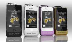 Stun Gun iphone case... I think I would abuse this... LOL