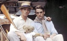 Anthony Andrews and Jeremy Irons in Brideshead Revisited