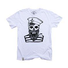 Blackbeard's Ghost: Organic Fine Jersey Short Sleeve T-Shirt