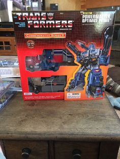 Trans Formers Commemorative Series II Powermaster Optimus Prime Apex Armor…