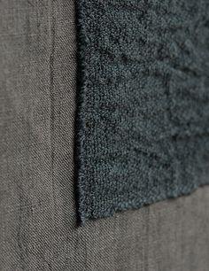 tsuchiya - furoshiki:  hand-woven cotton silk + linen
