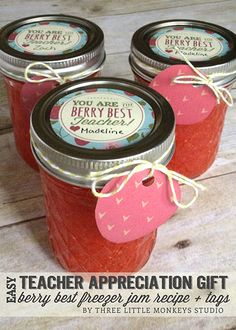 Easy Teacher Appreciation Gift Week Idea