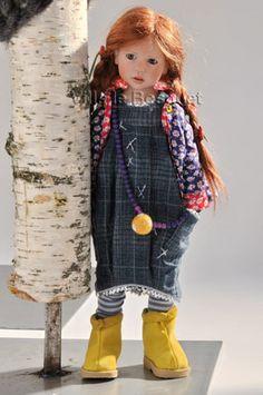 ZWERGNASE POUPEE LILLIMARIE - poupée d'artiste Zwergnase