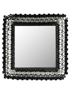 Square Tube Mirror by Safavieh on Gilt Home - 3rd floor back bath?