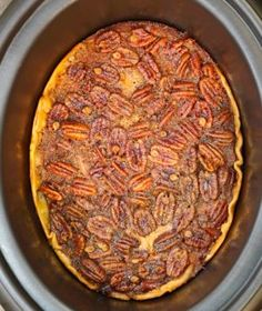 Crock Pot Pecan Pie - Y'all will go nuts over this!!
