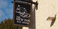 The New Inn's sign, Main Road, Shalfleet, Isle of Wight PO30 4NS
