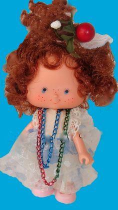 Boneca Antiga Moranguinho Cocadinha Estrela 1987 - R$ 175,00 no MercadoLivre