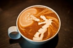coffee art :]]