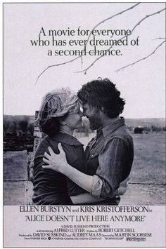 Alice Doesn't Live Here Anymore - USA i1974, directed by Martin Scorsese. Cast: Ellen Burstyn, Kris Kristofferson